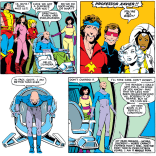 Professor Xavier returns to life, and Kitty gets yet ANOTHER new outfit. Two drinks. (X-Men #167)