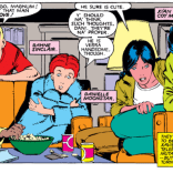 Can we talk about the New Mutants' adorable collective crush on Magnum, P.I.? (X-Men #167)