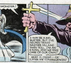 Kitty Van Helsing. (X-Men #159)