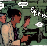 Madison Jeffries and Kavita Rao: also delightful (but not as delightful as Dr. Nemesis). (No one is as delightful as Dr. Nemesis.) (X-Men: Smoke and Blood #1)