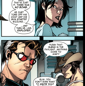 Well, that was a rapid and largely unsupported conclusion, Cyclops. (X-Men #1)