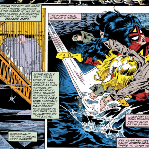 Meanwhile, in Avengers Annual #10, it's raining Marvels.