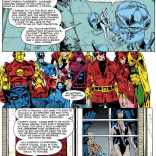 STANDING. FUCKING. OVATION. That said, it's pretty depressing that this came out in 1981 and still reads as a lot more progressive than the handling of sexual violence in a lot of current comics. (Avengers Annual #10)