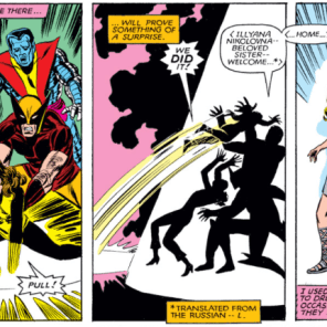 And we're back to where we left off at the end of X-Men #160. (Storm and Illyana: Magik #4)