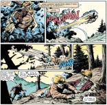 Sam Guthrie is such a good kid. Also nigh invulnerable when he's blastin'! (Marvel Graphic Novel #4)