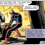 Sam is the nicest henchman ever, and we love him very much. (Marvel Graphic Novel #4)