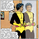 Let's break this down: Bobby's room contains a pinup calendar and a framed photo of Wolverine; and his idea of heaven is a place where his dead girlfriend can watch him put on tights. Headcanon: Bobby's secondary mutation is being the most 14-year-old boy of all the 14-year-old-boys, ever. (Marvel Graphic Novel #4)