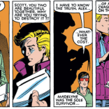 Then, again, having spent years reading stories set in a Claremont-written world, we find it difficult to believe that this was actually just supposed to have been a coincidence. (X-Men #172)
