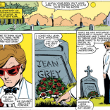 This is a really good speech, as such things go, but it's also really funny that he went to the graveyard in his tux. (X-Men #175)