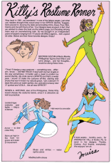 But I think we all know the REAL point of X-Men #168. (We're reviving this for this week's art challenge - send your Kitty Pryde costume redesigns to xplainthexmen(at)gmail(dot)com!)