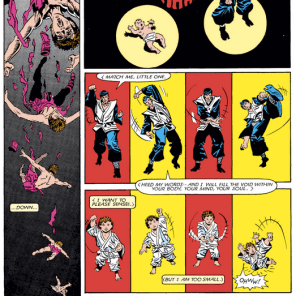 Your homework: Rate the creepiness of this scene on the X-Men scale of one to Belasco. (Kitty Pryde and Wolverine #2)