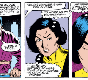 Aw, Shan. (New Mutants #6)