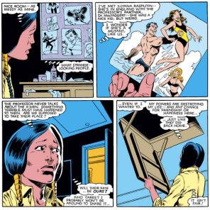 Remember, at this point, as far as everyone on Earth knew, the X-Men were dead. (New Mutants #1)