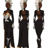 Kris Anka's Storm redesign. MOHAWK!