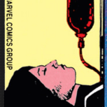 Gradually, across the Demon Bear Saga, the strangeness bleeds out from the panels and into the design elements. The corner square of New Mutants #18 was a Bob McLeod team portrait. This is the corner square from New Mutants #19.