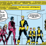 We cannot overemphasize the extent to which New Mutants is a school drama at this point. (New Mutants #17)