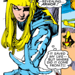 Illyana's soul armor spreads. (New Mutants #20)