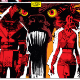 Corsi and Friedlander, in their demon forms. (New Mutants #20)