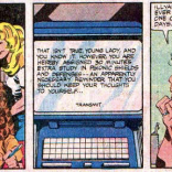 I'd like to take a moment to point out that the Professor Xavier who is punishing Kitty for thinking too loudly is explicitly good Professor X. (The X-Men and the Micronauts #1)