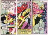 Action-figure-sized people fighting normal-sized people: NEVER NOT HILARIOUS. (The X-Men and the Micronauts #1)