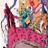 Look at that snazzy title treatment! (The X-Men and the Micronauts #2)