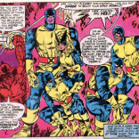 Okay, that's extra creepy. (The X-Men and the Micronauts #2)