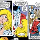 Colossus: Terrible boyfriend, pretty great brother. (Uncanny X-Men #187)