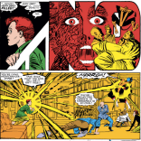 Seriously. Saddest time traveler. (Uncanny X-Men #187)