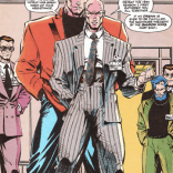 We searched for the source for this for like an hour, with no luck. Wherever it comes from, we would very much like to send it back. (Update: It's from X-Factor #69, with art by Whilce Portacio. Thank you, Breadcrumb!)