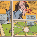 Things we never get tired of: Cyclops using his powers to cheat at pool. (The Uncanny X-Men and the New Teen Titans)
