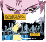 Remember when missing twin towers always signified a horrible post-apocalyptic future? (Uncanny X-Men #189)