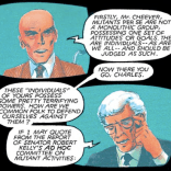 In which Xavier and Stryker do their best Carter/Reagan. (God Loves, Man Kills)