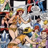 True fact: This is what ALL parties in LA are like. I think. Probably. (Beauty and the Beast #1)