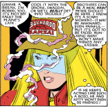 Not only is Illyana a badass demon sorceress and teleporter, but her taste in movies is impeccable. (Uncanny X-Men #192)
