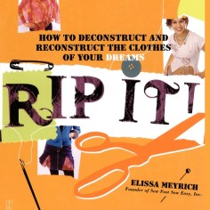 RIP IT: HOW TO DECONSTRUCT AND RECONSTRUCT THE CLOTHES OF YOUR DREAMS, BY ELISSA MYRICH . FOR: Shadowcat. The X-Men's most die-hard superfashionista can always use another tool in her arsenal--after all, you never know when you'll find yourself hankering for a new costume with no Shi'ar tech in sight. . WHAT SHE'D PREFER: A canonical girlfriend. . BACKUP GIFT: The Complete Elfquest, vol. 1.