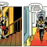 Seriously, had Jim Shooter ever actually read any X-Men at this point? (Dazzler: The Movie)