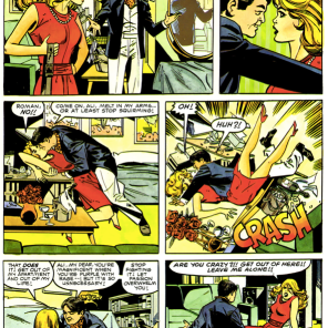 Meet your romantic lead. (Dazzler: The Movie)
