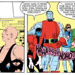 """That's right, Sam. And when you're headmaster of your own school, you can dress however you want."" (X-Men #193)"