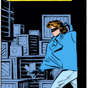 Kitty's jacket again, because it is just so gloriously awful. (X-Men #193)