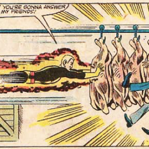 This isn't really relevant to the episode; it's just hilarious. (Marvel Team-Up Annual #6)