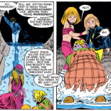 Damn, Shadowcat. That's cold. Not entirely inaccurate, but cold. (X-Men #195)