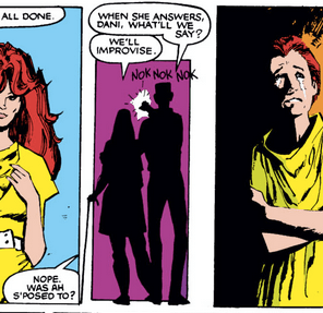 Aw, Rahne. (New Mutants #23)