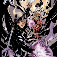 The first issue of G. Willow Wilson's Adler-Corbeau Award-winning run on X-Men, out this month!