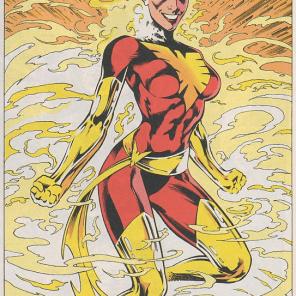 Miles's favorite Rachel Summers costume, from Excalibur #64.