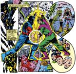 Ah, Molecule Man, one of the unforgettable heavy-hitters of the Marvel Universe. (Secret Wars II #9)