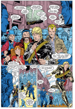 So, basically, this is Secret Wars II, done right. (Longshot #1)