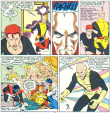 """""""HOW MANY TIMES DO I HAVE TO TELL YOU: DO AS I SAY, NOT AS I DO!"""" (X-Men/Alpha Flight vol. 1, #1)"""