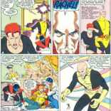 """HOW MANY TIMES DO I HAVE TO TELL YOU: DO AS I SAY, NOT AS I DO!"" (X-Men/Alpha Flight vol. 1, #1)"