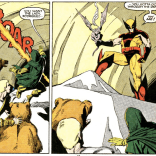 There have been near-infinite variations on this gag, and they're never not great. (X-Men/Alpha Flight vol. 1, #2)