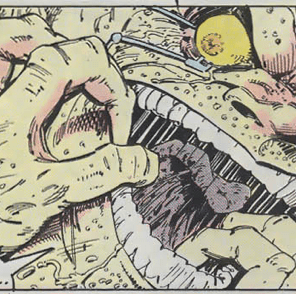 Mojo is terrifying. (Longshot #4)